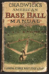 Chadwick's American Base Ball Manual, London 1874