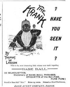Advertisement, 1888