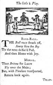 Base-Ball, 1760 (and 1744 too?)