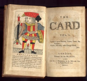 John Kidgell, THe Card, Newbery, 1755.