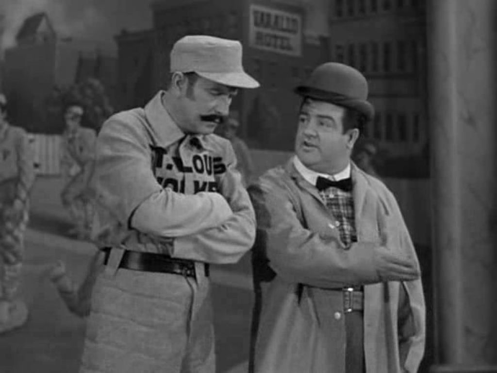 abbott costello dating skit Who's on first baseball skit by ron lisle 9  the best and only version worth using is the one from the abbott and costello movie naughty nineties.