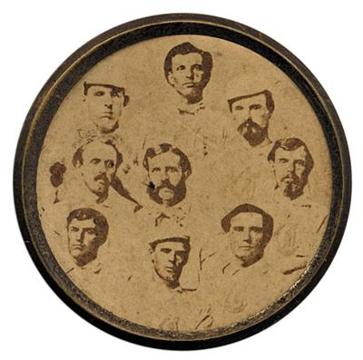 1869  Cincinnati Reds Disc