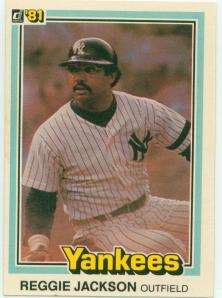 Reggie Jackson, 1981.