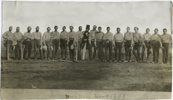 The Knickerbockers (left) and Excelsiors.