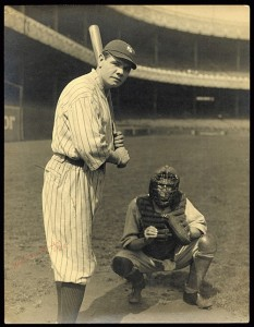 Babe Ruth, 1920.