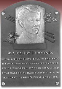 Candy Cummings plaque.