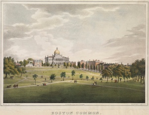 Boston Common Kidder, 1829