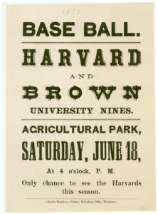 Harvard-Brown 1870