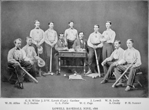 Lowell Base Ball 1865 and 1866
