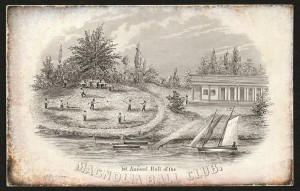 Magnolia Base Ball Club Invitation