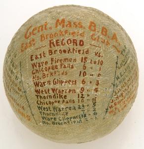 1883 East Brookfield Ball
