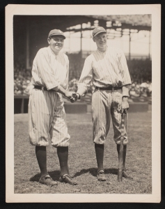 Babe Ruth and Bob Meusel