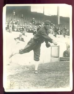 Ed Walsh in McHale's Baseball Revue of 1917