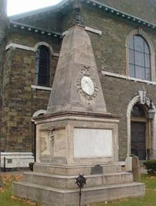 George Clinton Monument, Old Dutch Church, Kingston NY