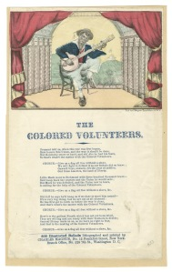 The Colored Volunteers, Song Sheet by C.Magnus, NY