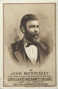 Boxing champion John Morrissey
