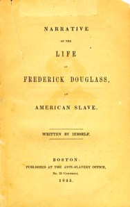 Life of Frederick Douglass, title page