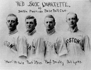 Red Sox Quartette