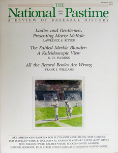The National Pastime 1982