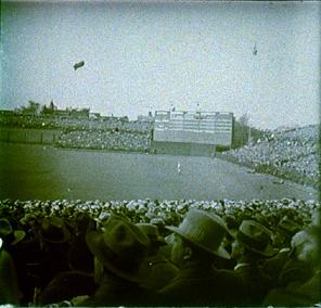 Wrigley's center field, 1929 World Series