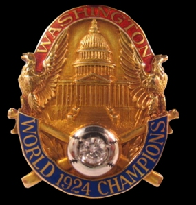 1924 World Series Pin