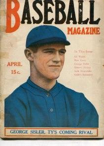 Baseball Magazine, George Sisler