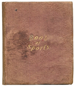 Robin Carver, Book of Sports 1834
