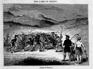 Game of Shinty 1835