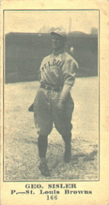 George Sisler, Pitcher, 1915
