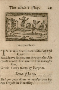 Newbery 1744, stool-ball