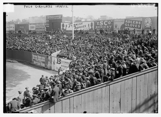Polo Grounds Right Field 1912 World Series
