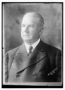 A. G. Spalding, 1910.
