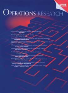 Operations Research Journal