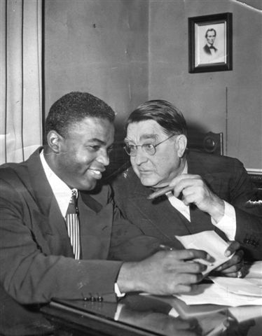 jackie robinson and branch rickey relationship trust
