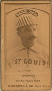 Arlie Latham, 1888