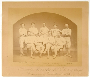 1871 Osceola of Stratford with O'Rourke; Murnane had played with the club in 1869-70.
