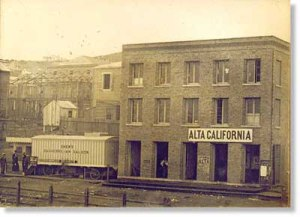 Alta Office, Shew's Daguerreian Saloon, 1851