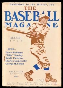 Baseball Magazine, August 1908