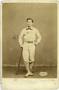 Murnane with 1874 Athletics
