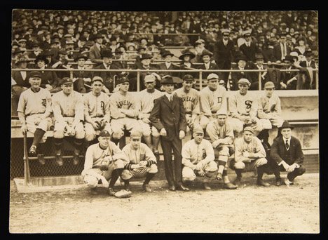 Murnane Benefit Game 1917