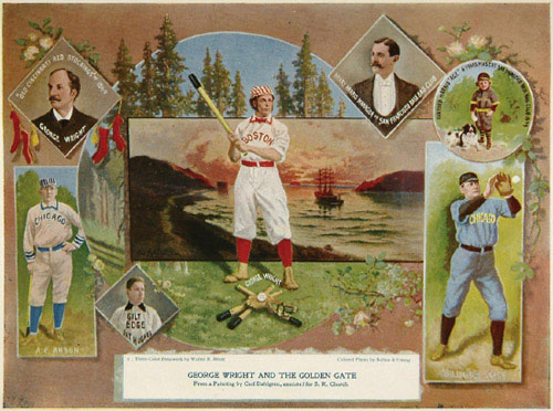 From Seymour Church, Base Ball: George Wright and the Golden Gate