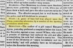Daily Alta, February 4, 1851