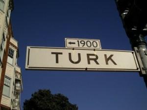 Turk Street, San Francisco