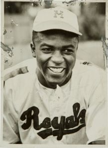 Robinson with Montreal Royals, 1946