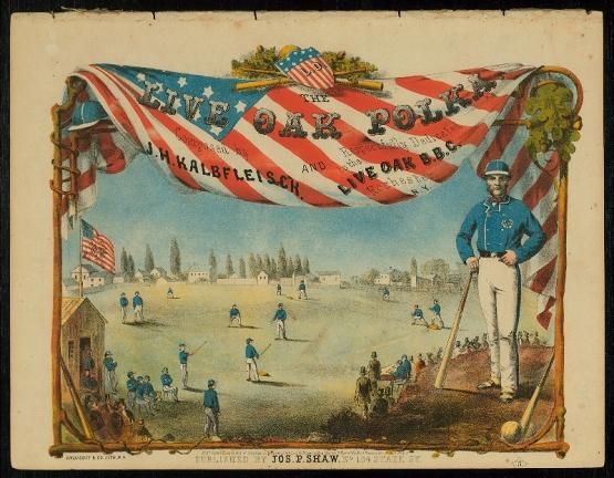 Live Oak Polka, 1860