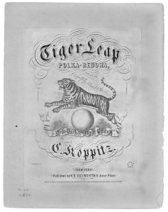 Tiger Leap Polka; H. B. Dodworth, New York, 1862
