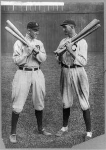 Ty Cobb and Joe Jackson