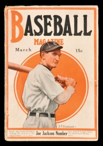 Joe Jackson, Baseball Magazine, March 1916
