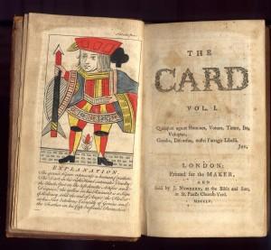 John Kidgell's The Card, 1755