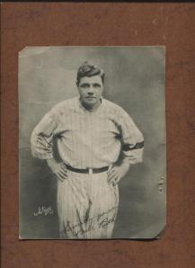 Babe Ruth 1921 Pathe Freres Premium